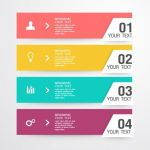 وکتور لیبل infographic label elements