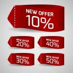 وکتور لیبل discount sale tags